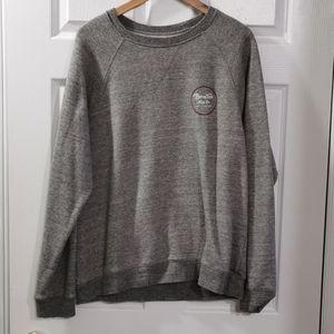 Men's Brixton Marled Grey Pullover Hoodie